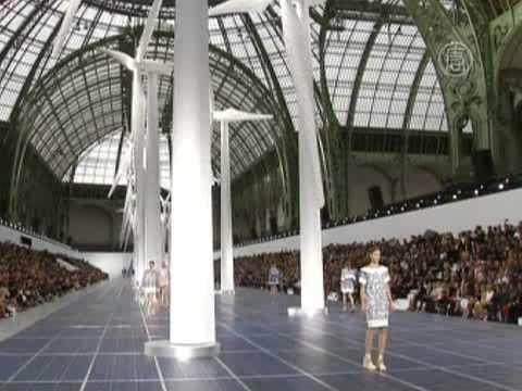 Новая коллекция Chanel: глоток свежего воздуха (видео)