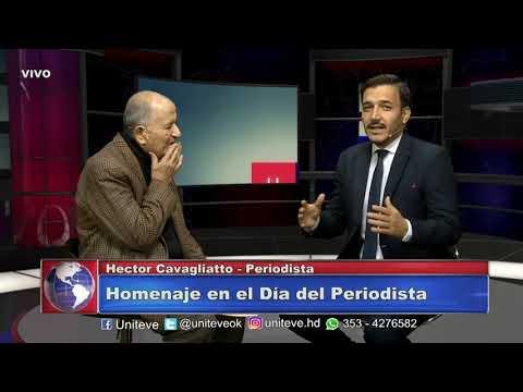 En el Día del Periodista homenajeamos a Héctor Cavagliatto, un histórico de la profesión.