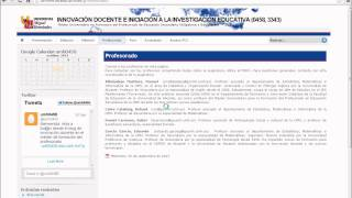 Umh0458 2013-14 Lec002 Presentación Del Blog De La Asignatura