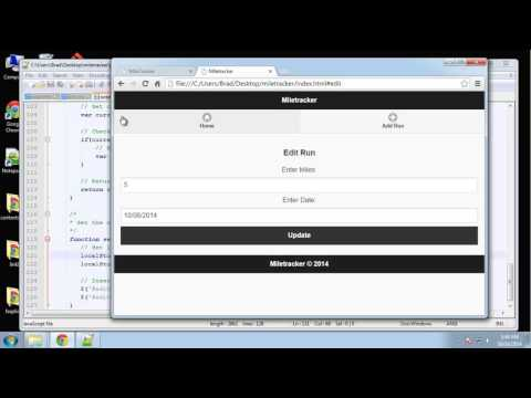 Learn to Build a jQuery Mobile App from Scratch - Part 5