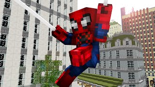 Video One day as Spiderman ! - Craftronix Minecraft Animation download in MP3, 3GP, MP4, WEBM, AVI, FLV January 2017