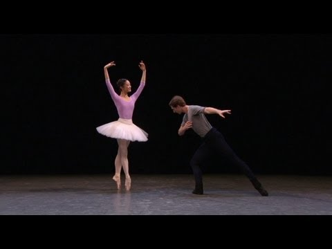 Watch: The Nutcracker in rehearsal