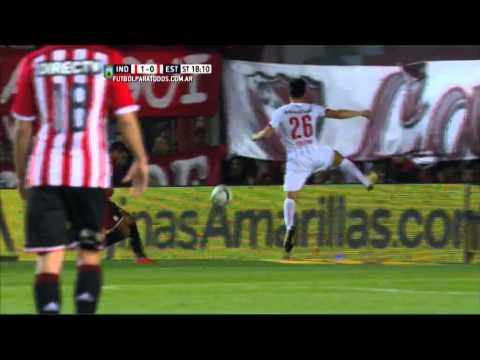 Gol de Fernández. Independiente 1 – Estudiantes 1. Fecha 22. Primera División 2015