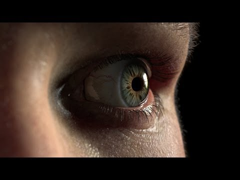 Eye Piece Incredibly Realistic CGI Eyeball