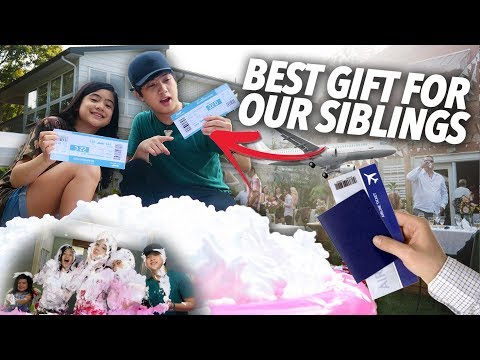 Download Video SURPRISE PRESENT FOR SIBLINGS | Ranz And Niana