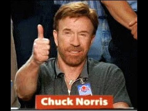 Chuck Norris facts read by Chuck Norris