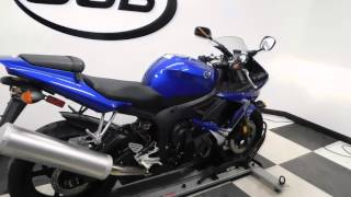 6. 2008 Yamaha YZF-R6S Blue - used motorcycle for sale - Eden Prairie, MN