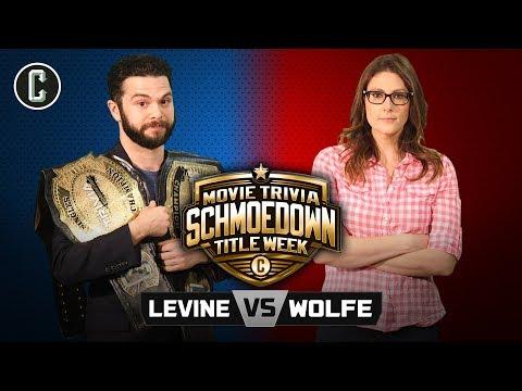TITLE MATCH! Samm Levine vs. Clarke Wolfe II - Movie Trivia Schmoedown (видео)
