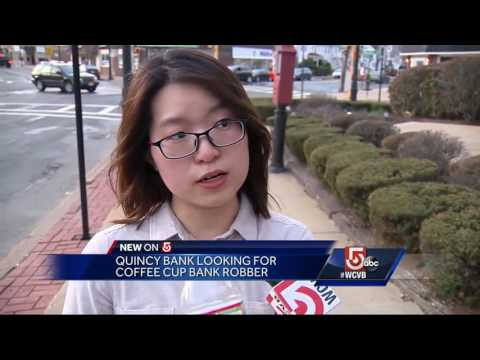 Coffee cup disguised as bomb used in bank robbery