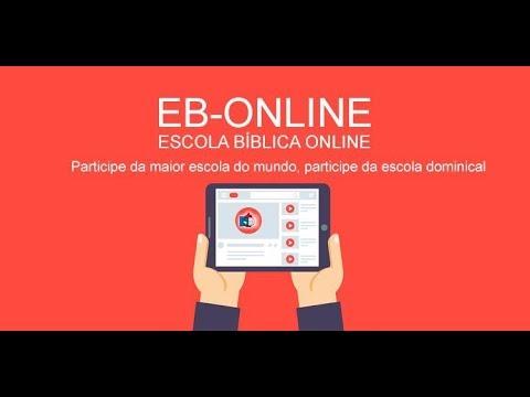 Escola Bíblica Online - 11h - 09/08/2020