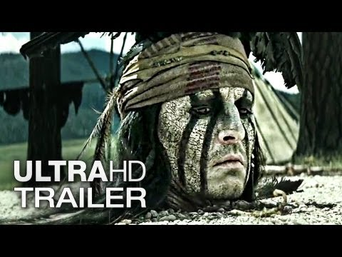 LONE RANGER Trailer 2 Deutsch German | 2013 Official Film [Ultra-HD 4K]