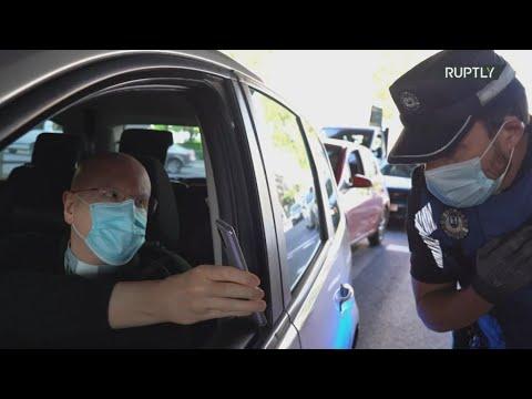 Ισπανία:Η αστυνομία διενεργεί ελέγχους καθώς επιβάλλονται νέοι περιορισμοί  στη Μαδρίτη