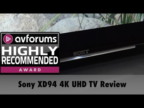 Sony XD94 75-inch 4K UHD HDR TV Review