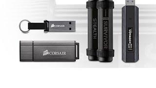 Corsair Voyager, Survivor ve Padlock  USB bellek ailesi incelemesi