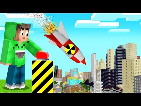 We TESTED NUKES In A MINECRAFT WORLD! (Insane)