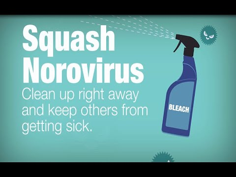 Clean Up After Someone with Norovirus Vomits or has Diarrhea