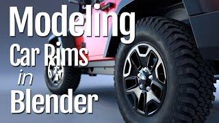 Como modelar um  carro no Blender 3D