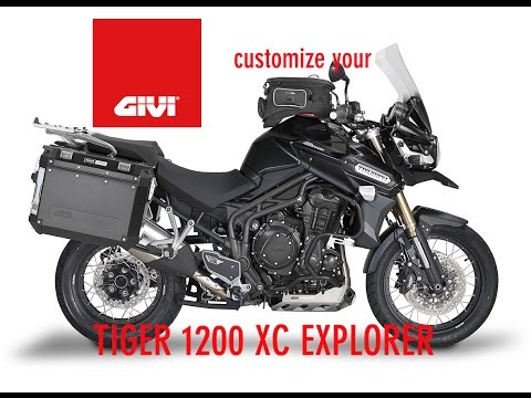 Customize your Triumph XC1200 Explorer with GIVI accessories.