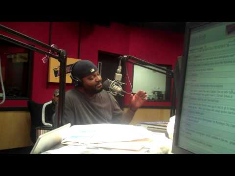 Comedian Aries Spears on the Tom Joyner Morning Show