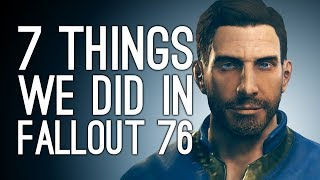 Fallout 76 Gameplay: 7 Things We Did in Fallout 76 - NUKES! VATS! BANJO!