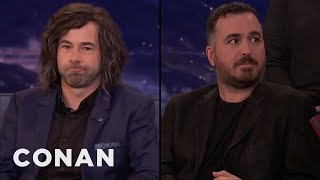 Video Murr Is Wearing A Wig Made Out Of Q's Hair  - CONAN on TBS MP3, 3GP, MP4, WEBM, AVI, FLV Juni 2018