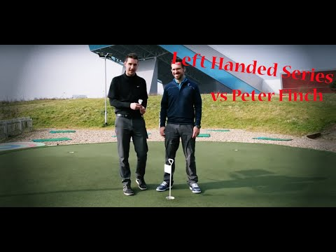 Left Handed Golf Series – Pete Finch  Chipping Challenge