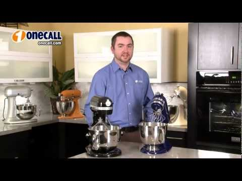 Closer Look: KitchenAid Stand Mixers