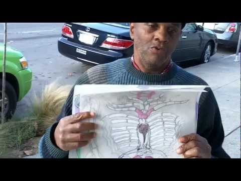 OutsiderArtwork - Outsider Artwork: Alien reincarnated Barry C Paul with anatomical alien drawings. Barry C Paul is a visionary artist living in the San Francisco Bay Area. He...