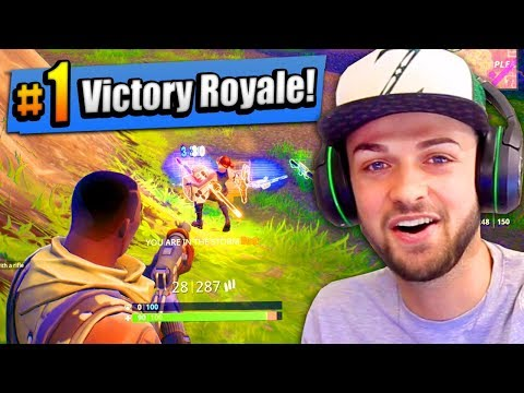 OMG - MY FIRST #1 FINISH! - Fortnite: Battle Royale