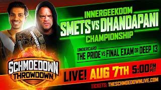 InnerGeekdom Title Match: Kevin Smets vs Chandru Dhandapani by Schmoes Know
