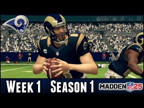 Madden 25 Rams Connected Franchise - Week 1 vs Cardinals - Season 1