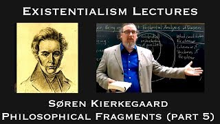 Existentialism:  Soren Kierkegaard, Philosophical Fragments (part 5)