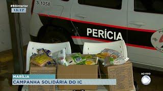 Instituto de criminalística de Marília arrecada doações para público carente