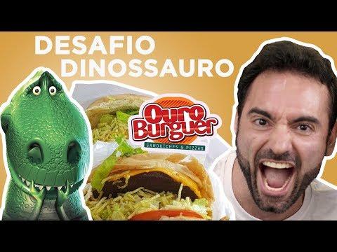 Desafio #40 - Ouro Burger valendo R$1500 (3kg, 8700kcal)