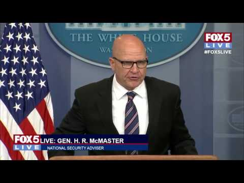 H.R. McMaster: Premise of Washington Post story on Trump's talks with Russian diplomats was false