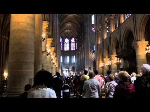 Hymn at Notre Dame Cathedral