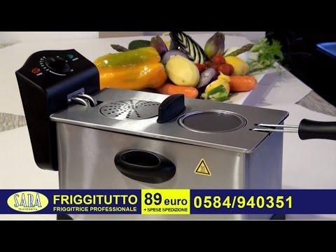 FRIGGITUTTO - friggitrice professionale