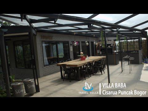 Villa Baba Puncak Cisarua View Lepas Kolam Renang Pribadi dekat Taman Safari Indonesia
