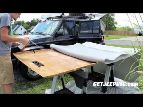 How To: Installing Headliner in 1984 – 2001 Jeep Cherokee XJ – GetJeeping