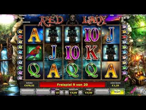 Red Lady Slot - Freispiele mit 5x Red Lady auf einer Linie
