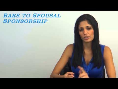 Bars to Spousal Sponsorship Video