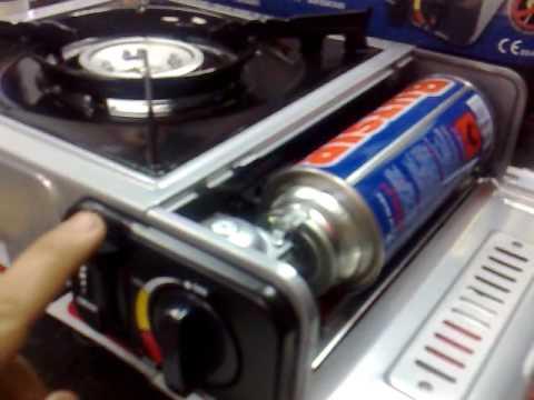 Vitroceramicas portatiles camping videos videos for Cocina de gas portatil