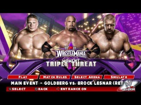 Goldberg_Vs_Brock_Lesnar_&_Goldberg vs Triple H World Heavyweight Championship Match Unforgiven hd