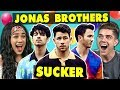 Download Video College Kids React To Jonas Brothers - Sucker