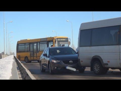 Паровозик на Виадуке в Резекне. 23.01.2014 (видео)