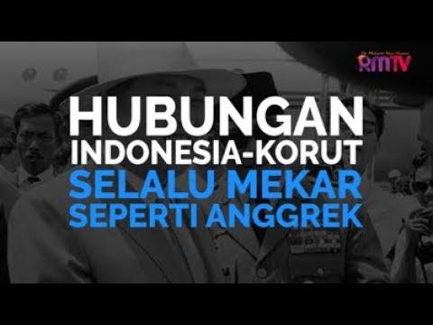 Hubungan Indonesia-Korut Selalu Mekar Seperti Anggrek
