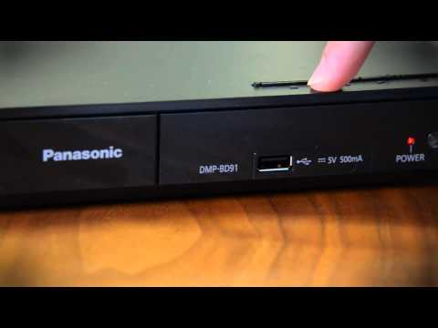 Panasonic DMP-BD91 blu-ray player - Hands on