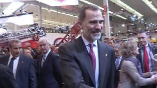 S.M. el Rey asiste a la inauguración de una nueva edición de FIMA