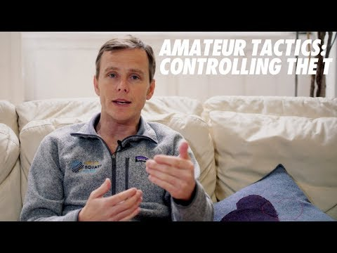 Squash tips: Basic amateur tactics with Peter Nicol - Controlling the T