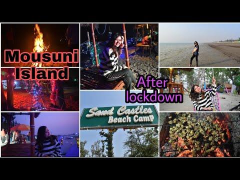 Mousuni Island Tour after Lockdown || Sand Castle Camp || Secret Beach || Sayani Banerjee ||